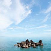 Stones on the sea — Stock Photo