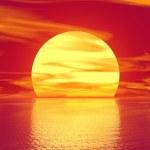 Golden sunset — Stock Photo #15217985