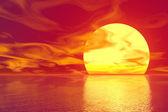 Zlaté slunce — Stock fotografie