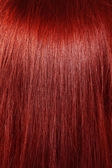 Red hair background — Stock Photo