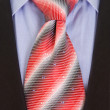 Close up businessman tie - Foto Stock