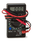Digital multimeter with electrical outlet — Foto Stock
