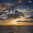 Foto Stock: Caribbean sunset