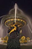 Fountain at the Place de la Concorde — Stock Photo