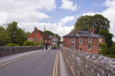 Cozy street in Harnham — Photo