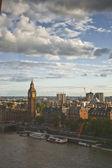 在伦敦的议会的房子 — 图库照片