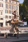 Baroque Triton Fountain — Stock Photo