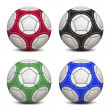 Stock Photo: Soccer Balls Collection