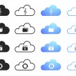 Cloud Computing Collection Set 3 — Stock Vector #18964627