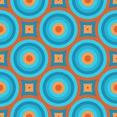 Retro Wallpaper Seamless Pattern — Stock Vector