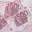 Euro Bills - 500 — Stock Photo