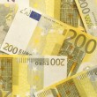 Stock Photo: Euro Bills - 200