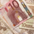 Stock Photo: Euro Bills - 10