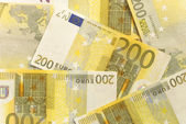Euro Bills - 200 — Stock Photo