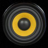 Audio Speaker Detail Background — Stock Photo