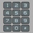 Numeric Keypad — Stock Photo