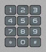 Numeric Keypad — Stok fotoğraf