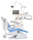Dental Chair Cutout — Stock Photo