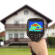Thermal Image of the House — Stock Photo #13120436