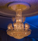 Christal Chandelier — Stock Photo