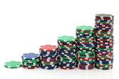 Gambling Tokens — Stock Photo