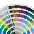 Stock Video: Color swatch wheel