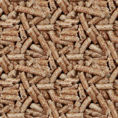 Wooden Pellets Seamless Background — Stock Photo