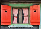 Chalet Window — Stock Photo