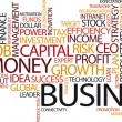 Business Tag Cloud - Vettoriali Stock