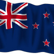 Flag of New Zealand - Stock Vector