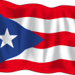 Flag of Puerto Rico — Stock Vector