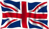 Flag of United Kingdom — Cтоковый вектор