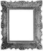 Silver Mirror Frame Cutout — Stock Photo