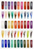 Collection of Finger Nails Cutout — Stock Photo