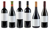 Wine Bottles Template — Stock Photo