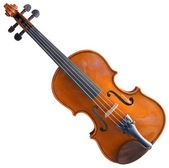Fiddle Cutout — Stock Photo