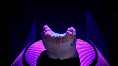 Dental 3D scanner — Stock Video