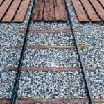 Wood Chock Across Railway — Stock Photo #12102268