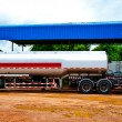 Stock Photo: The Fuel tanker truck