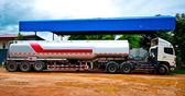 The Fuel tanker truck — Foto de Stock