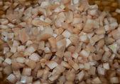 Gengibre em conserva com feijão colar — Foto Stock