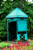 Guardhouse in park — Stock Photo