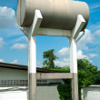 Water tank tower — Stock Photo #12793646