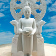 Buddhstatus on blue sky background — Stock Photo #12795405