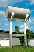 Water tank tower — Stock Photo