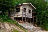 Under construction new house — Stock Photo