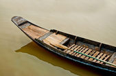 The Old boat in thailand — Stock Photo