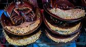Horseshoe crab with eggs — Stock Photo