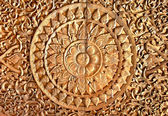 The Carving wood of Thai style — Stock Photo