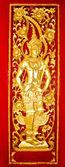 L'arte della porta nel tempio — Foto Stock